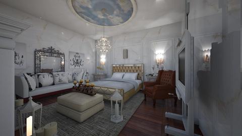 Classic_Luxury_BedRoom - Classic - Bedroom  - by Nikos Tsokos