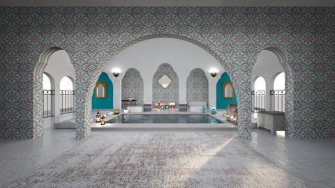 Marokko - Garden  - by doraszabo
