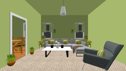 Earth Tones - Modern - Living room - by Abi Patterson
