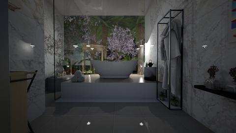 garden of peace - Minimal - Bathroom  - by mchmlle