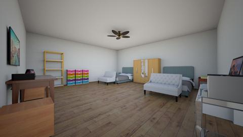Queen room - Classic - Bedroom - by summerfun2020