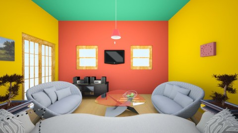 daily living - Country - Living room  - by SACHIN BARUPAL