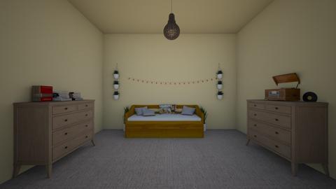My dream room - Minimal - Bedroom  - by Georgeweasleyismine