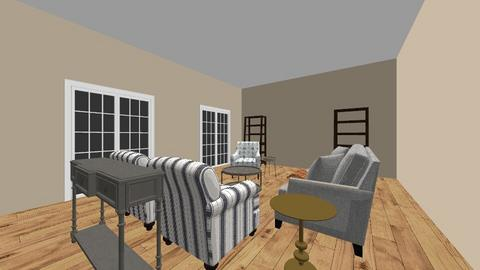 14 Rosemary A Final 3D - Living room  - by hongvan