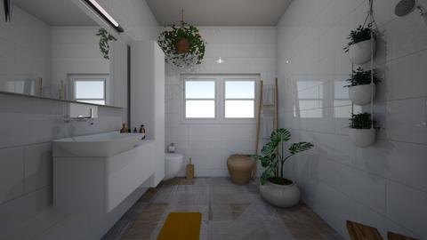 bathroom studio 1 new  - Minimal - by BlokhEphroni