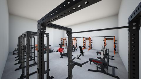 Training Gym - by rogue_42497e6b76a4881850630bdb91f9c