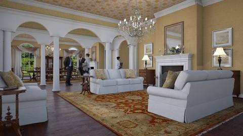 Emb Residence Reception Area - by Valentinapenta