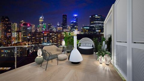 NEW YORK STUDIO garden 1 - by dreabaas14