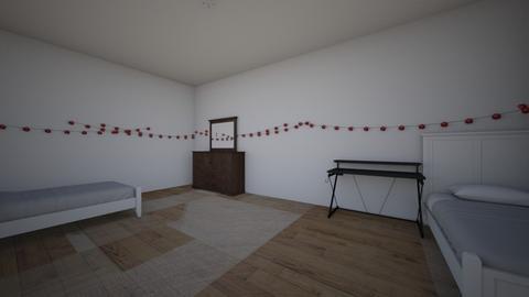 My room - Classic - Bedroom  - by Shoto_Todoroki