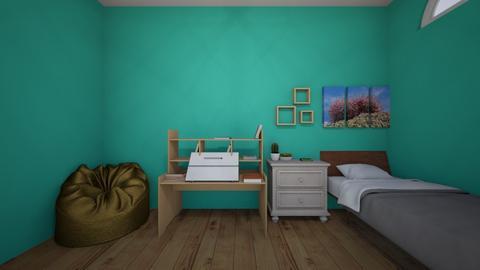 My Bedroom - Modern - Bedroom - by DolphinGirl