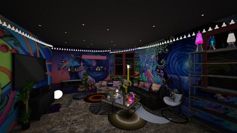 Stoner - Eclectic - Living room - by BeckAsHeck