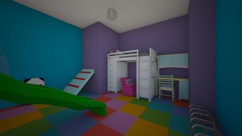 The kids dream - Kids room  - by MonPrzOli