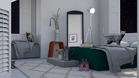 City Living - Modern - Bedroom  - by Gurns