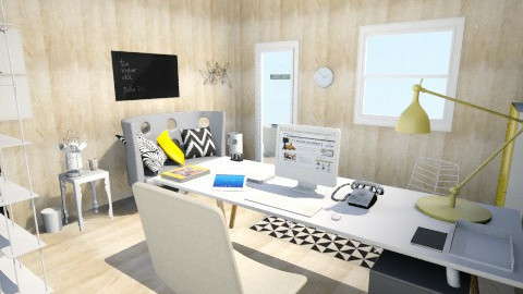 my office - Office - by Sara Salaris