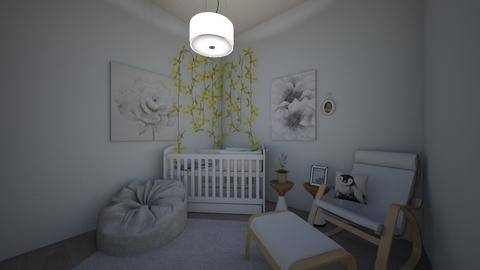 baby room - Bedroom  - by jrgerye707