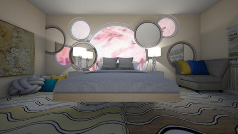blurry bedroom - by Chardesigner