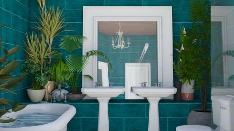 Garden Bathroom - Bathroom  - by Cailyn V