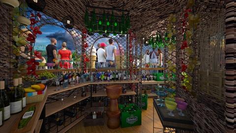 tropical bar  - Eclectic - by Ida Dzanovic