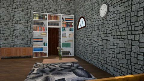 Wooden Room - Vintage - Office  - by Sabrina Yunio Hasandra