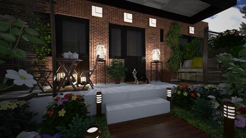 Balcony - Garden  - by bigmama14