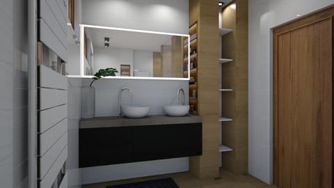 Petra  - Modern - Bathroom  - by szaboi