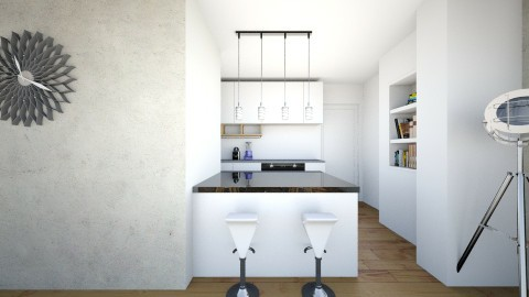 kitchen - Minimal - Living room  - by Boris Kulic