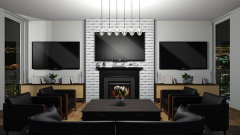 for Ari_adnos - Modern - Living room  - by srmagi