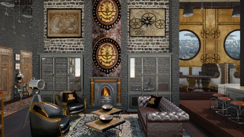 Steampunk Inn - by crosette