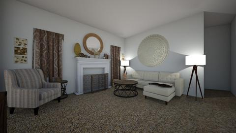 peace and quiet - Rustic - Living room  - by Itspossible