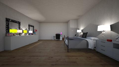 my bedroom  - Bedroom  - by nicecutg