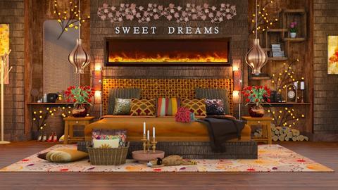 Sweet Dreams - Bedroom - by HebaAdil10