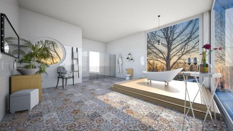 Canadian romantic bathroom - Bathroom  - by leamarcouxdesign