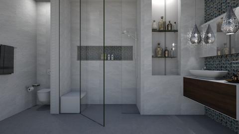 FandD Bathroom 2 - Bathroom  - by rickglassinteriors