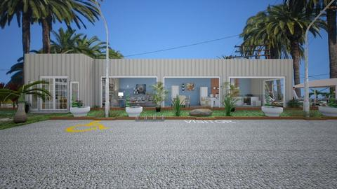 Container Home2 - Modern - Office  - by Irishrose58