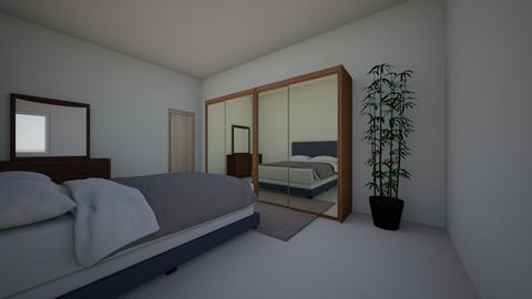 Heidi bedroom 3d - Modern - Bedroom  - by Heidi Nasr