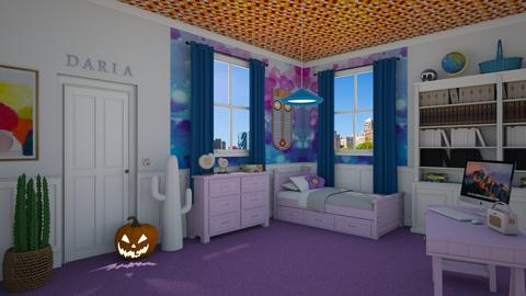 Daria Morgendorffer - Eclectic - Kids room - by Elenny