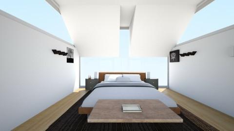 Modern Retreat - Bedroom  - by bohlrachel