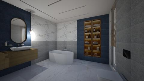 enzo marble - Modern - Bathroom  - by szaboi