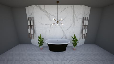 Just a Bath - Minimal - Bathroom  - by BubbleSloth