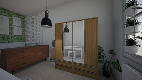 Small Attic Bedroom  - Bedroom  - by jb2211