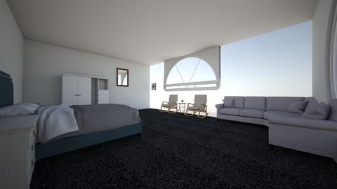 Simple Bedroom - Bedroom  - by malikmoarij
