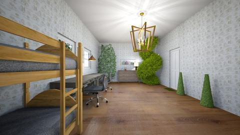 Grove Twins Room - Bedroom  - by eeppsss