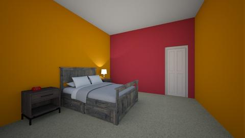 Tanner_Orth_2B - Modern - Bedroom - by SCMS FACS