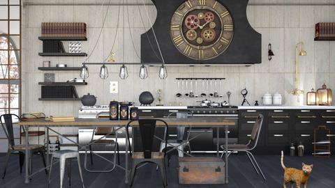 Steampunk Kitchen - Kitchen - by ArtHousedeco