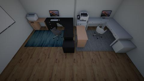 mom and grayshas office - Office  - by creter