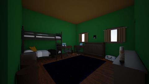 Teenage Wasteland - Bedroom  - by ryanstewart2003