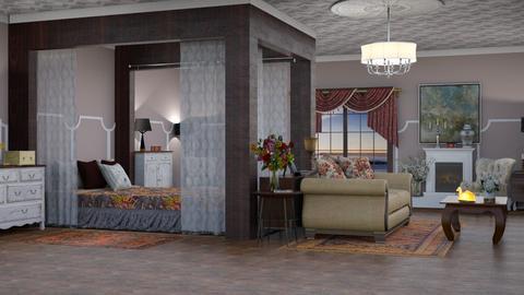 Dormitorio - by ArwinCat