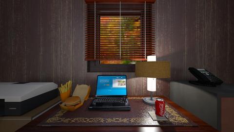 Rustic Country Den - Office  - by WestVirginiaRebel