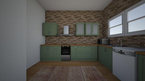 Interior Design_Kitchen 2 - by ryleesimmons