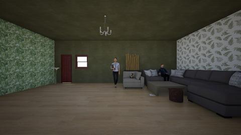 Relaxing herbal room - Living room  - by lianlv